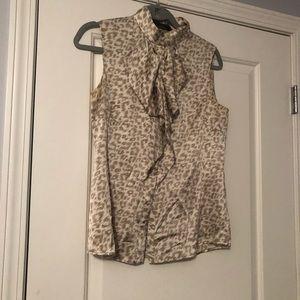 Cheetah blouse tank
